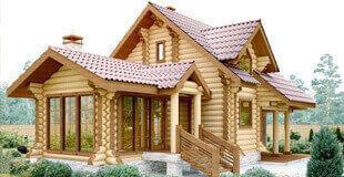 Деревянные дома от «Sddu»